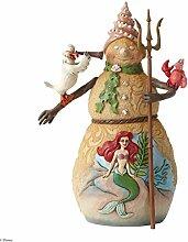 Disney Traditions Figur Schneemann mit Ariel Scene