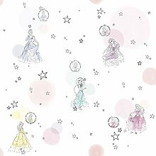 Disney Vlies Tapete von Komar - Princess Pretty