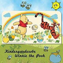 Disney Winnie the Pooh 3er Kleiderhakenleiste 14x 27 cm