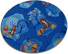Disney Winnies Traum HEVO® Teppich   Kinderteppich   Spielteppich 160 cm Ø Rund