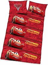 Disneys Cars 3 Bettwäsche 40x60cm 100x135cm,