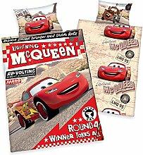 Disneys Cars Kinder BETTWÄSCHE 40x60 100x135cm,