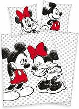 Disneys Mickey Maus und Minnie Mouse Bettwäsche