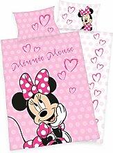 Disneys Minnie Mouse Bettwäsche 40x60 + 100x135cm