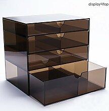 display4top Kosmetik-Schubladen aus Acryl
