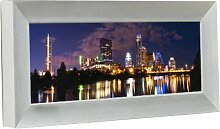 Displays2go Panorama-Wand-Bilderrahmen für 25,4 x
