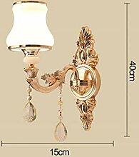 Diss JM Wandlampe- Europäische Kristallwandlampe,