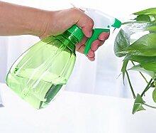 Distinct® 500ml Plastik Spray Flasche Garten Outdoor Küche Bewässerung Dosen Pflanze Blume Werkzeuge (Grün)