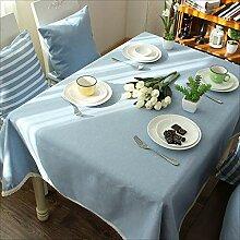 DIT Tischdecke Tischtuch Streifen Tischdecke