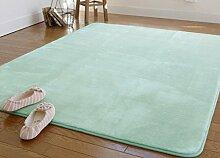 DiTan Wu Continental minimalistischen Wohnzimmer Couchtisch Teppich Schlafzimmer Nachtdecke korallenrote Vliesdecke Erker Teppichboden ( farbe : 5# , größe : 140*200CM )