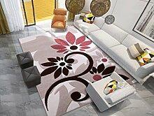 DiTan Wu Einfach und stilvoll modernen Wohnzimmer Couchtisch Schlafsofa Schlafzimmer Teppich Eingang großer Teppich Teppichboden ( farbe : 2# , größe : 133cm×190cm )