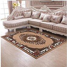 DiTan Wu Einfache, moderne Stil gemusterten Teppichen mit neuen zu Hause bleiben Wohnzimmer Couchtisch Teppich Schlafzimmer Teppich-Bett-Zimmer Teppichboden ( farbe : D1 , größe : 125mm*1600mm )