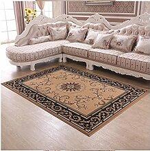 DiTan Wu Einfache, moderne Stil gemusterten Teppichen mit neuen zu Hause bleiben Wohnzimmer Couchtisch Teppich Schlafzimmer Teppich-Bett-Zimmer Teppichboden ( farbe : C1 , größe : 2300mm*3100mm )