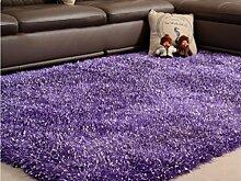 DiTan Wu Einfache Verdickung elastischer Flagge Teppich Haushaltsteppich Wohnzimmer Couchtisch Schlafzimmerteppich Silky Stretch-Sofa-Bett Decke Teppichboden ( farbe : 3# , größe : 1.2x1.7m )