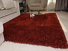 DiTan Wu Einfache Verdickung elastischer Flagge Teppich Haushaltsteppich Wohnzimmer Couchtisch Schlafzimmerteppich Silky Stretch-Sofa-Bett Decke Teppichboden ( farbe : 5# , größe : 1.2x1.7m )