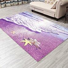 DiTan Wu Eingang in das Wohnzimmer Couchtisch Teppich Mode saugfähige Küche Schlafzimmer Bettvorleger Rutsch Teppich Teppichboden ( farbe : 1# , größe : 120CM*180CM )