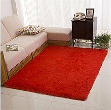 DiTan Wu Extrem weich maschinenwaschbar Teppich Bett Schlafzimmer Wohnzimmer Couchtisch Teppich Küche Bad bunt Teppichboden ( farbe : 6# , größe : 1200mm*2000mm )