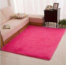DiTan Wu Extrem weich maschinenwaschbar Teppich Bett Schlafzimmer Wohnzimmer Couchtisch Teppich Küche Bad bunt Teppichboden ( farbe : 1# , größe : 800mm*1600mm )
