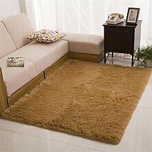 DiTan Wu Extrem weich maschinenwaschbar Teppich Bett Schlafzimmer Wohnzimmer Couchtisch Teppich Küche Bad bunt Teppichboden ( Farbe : 4# , größe : 800mm*2000mm )