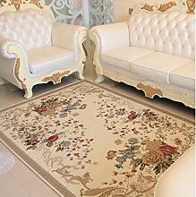 DiTan Wu Großes Wohnzimmer Couchtisch Teppich Teppich Continental Sofa Bett Bettdecke Teppichboden ( farbe : 1# , größe : 160*230CM )