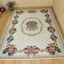 DiTan Wu Großes Wohnzimmer Couchtisch Teppich Teppich Continental Sofa Bett Bettdecke Teppichboden ( farbe : 6# , größe : 200*200CM )