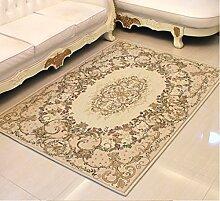 DiTan Wu Großes Wohnzimmer Couchtisch Teppich Teppich Continental Sofa Bett Bettdecke Teppichboden ( farbe : 4# , größe : 90*140CM )