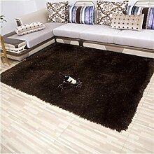 DiTan Wu Lassen Sie 8 cm dicken Fäden Verschlüsselung Wohnzimmer Couchtisch Schlafzimmer Bettvorleger den Foyer Teppich im Flur Teppichboden ( farbe : 5# , größe : 0.8m*2.3m )