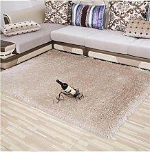 DiTan Wu Lassen Sie 8 cm dicken Fäden Verschlüsselung Wohnzimmer Couchtisch Schlafzimmer Bettvorleger den Foyer Teppich im Flur Teppichboden ( farbe : 7# , größe : 0.6m*1.7m )