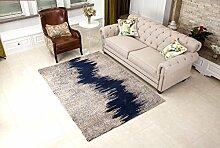 DiTan Wu Moderne abstrakte Teppich Art und Weise dünnen Wohnzimmer Teppich Schlafzimmer Teppich Sofatisch Gradationsmusters Kissen Teppichboden ( farbe : 7# , größe : 1400MM×2000MM )
