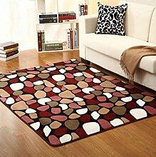 DiTan Wu Teppich Mat / Einfache Farbe Teppich / Wohnzimmer Teppich / Schlafzimmer Bedside Teppich / Badezimmer Teppich Teppichboden ( farbe : 1# , größe : 1.4*2cm )