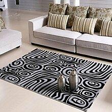 DiTan Wu Teppich Mat / Hand geschnitten Blumen Teppich / Wohnzimmer Teppich Mat / Couchtisch Teppich / Schlafzimmer Teppich / Bettdecke Teppichboden ( farbe : 3# , größe : 1400*2000MM )