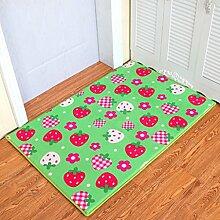 DiTan Wu Teppich rechteckigen Teppich Wohnzimmereingang Nachtbett Badezimmer rutschfeste Teppich Teppichboden ( Farbe : H , größe : 50×80CM )