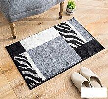 DiTan Wu Teppich rechteckigen Teppich Wohnzimmereingang Nachtbett Badezimmer rutschfeste Teppich Teppichboden ( Farbe : F )