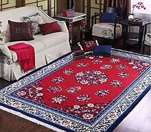 DiTan Wu Teppichauflage / Art und Weiseteppich / handgemachte Teppiche / Landhaus-Teppich / Wohnzimmer Teppich / Kaffeetischteppichmatte / Bedside Bedside Teppich / verdicken den Teppich Teppichboden ( farbe : 2# , größe : 150*200cm )