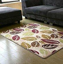 DiTan Wu Teppichmatte / Coral Fleece Teppich Hochwertige Teppich / Einfache, moderne Teppich / Wohnzimmer Teppich / Bettvorleger / Schlafzimmer Teppichmatte / Couchtisch Teppich Teppichboden ( farbe : 1# , größe : 1.2*1.6cm )