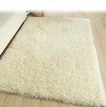 DiTan Wu Teppichmatte / Einfache feste Farbe Teppich / Rechteckige Wohnzimmer Teppich / Bett Teppich / Kaffeetisch Teppichmatte / Shaggy Teppich Teppichboden ( farbe : 6# , größe : 1.4*2cm )