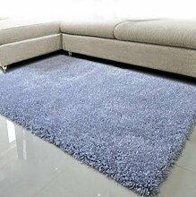 DiTan Wu Teppichmatte / Einfache feste Farbe Teppich / Rechteckige Wohnzimmer Teppich / Bett Teppich / Kaffeetisch Teppichmatte / Shaggy Teppich Teppichboden ( farbe : 5# , größe : 1.4*2cm )