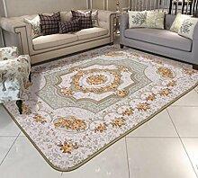 DiTan Wu Teppichmatte / Europäische Teppich Sofa Schlafzimmer mit Teppich Hochwertige Teppich / Einfache, moderne Teppich / Wohnzimmer Teppich / Rechteckige Teppich / Schlafzimmer Hochzeit Raum voller Teppich / Couchtisch Teppich Teppichboden ( farbe : 2# , größe : 150*200cm )