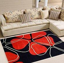 DiTan Wu Teppichmatte / Handschnittblumen Teppich / Wohnzimmerteppich Matte / Couchtisch Teppich / Schlafzimmer Teppich / Bett Decke Teppichboden ( farbe : 1# , größe : 1400*2000MM )
