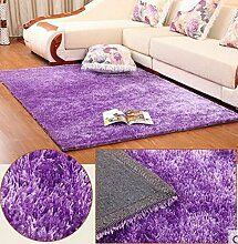 DiTan Wu Teppichmatte / Verkrustete Silk Wollteppich / Hochwertige Teppich / Einfache, moderne Teppich / Wohnzimmer Teppich / Bettvorleger / Schlafzimmer Teppichmatte / Couchtisch Teppich Teppichboden ( farbe : 5# , größe : 120*170cm )