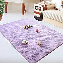 DiTan Wu Teppichunterlage / Wohnzimmerteppich / Rechteckige Teppich / Große der Couchtisch Teppich-Pad / Nachtschlafzimmerteppich / Kind kriecht Teppich / Fußmatte Teppich-Pad Füße Teppichboden ( farbe : 4# , größe : 120*160CM )