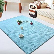 DiTan Wu Teppichunterlage / Wohnzimmerteppich / Rechteckige Teppich / Große Der Couchtisch Teppich-Pad / Nachtschlafzimmerteppich / Kind Kriecht Teppich / Fußmatte Teppich-Pad Füße Teppichboden ( farbe : 3# , größe : 100*150CM )