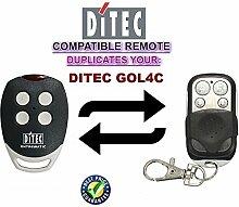 Ditec GOL4C Garagentor Fernbedienung Sender