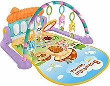 Dittzz Baby Krabbeldecke mit Spielbogen und Musik,