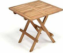 DIVERO Balkontisch Gartentisch Tisch Beistelltisch