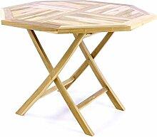 Divero Balkontisch Gartentisch Tisch Esstisch Holz