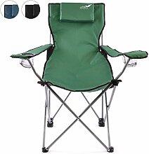 Divero Camping Stuhl Faltstuhl Angelstuhl