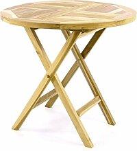 Divero Gartentisch Balkontisch Tisch Esstisch Holz