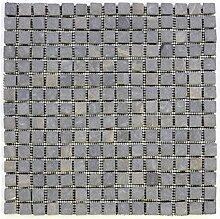 DIVERO Marmor Naturstein-Mosaik Fliesen für Wand