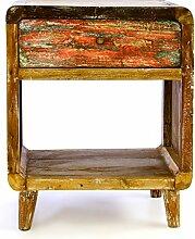 Divero Vintage Nachtschrank Nachttisch